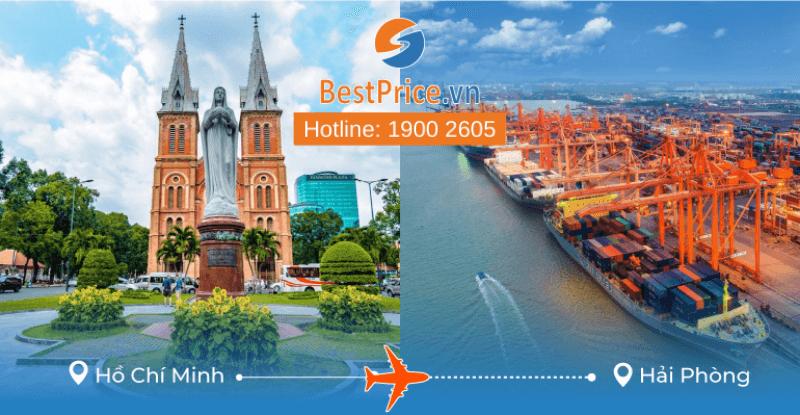 Đặt vé máy bay giá rẻ Hồ Chí Minh đi Hải Phòng