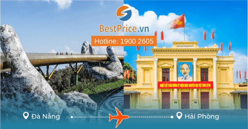 Đặt vé máy bay giá rẻ Đà Nẵng đi Hải Phòng