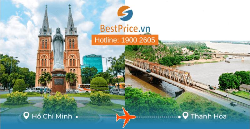 Đặt vé máy bay Sài Gòn đi Thanh Hóa