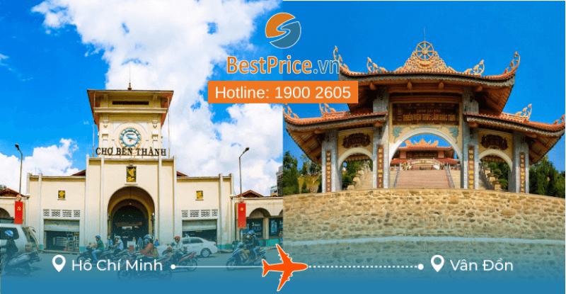 Đặt vé máy bay Sài Gòn đi Vân Đồn