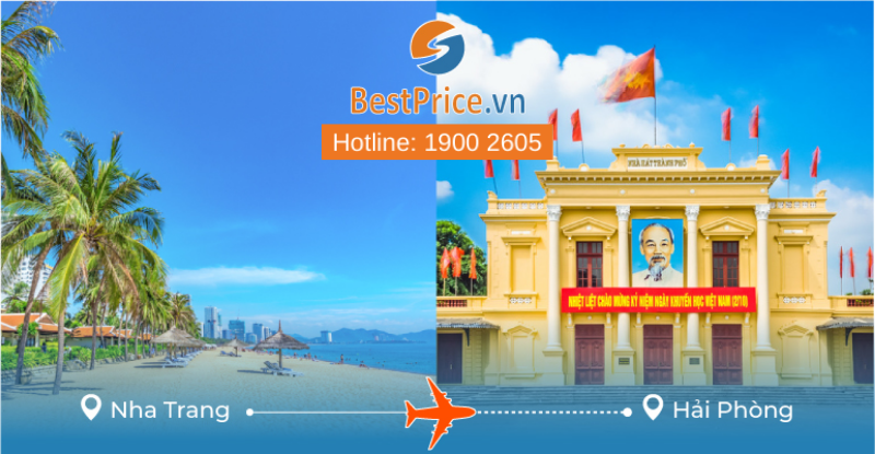 Đặt vé máy bay Nha Trang đi Hải Phòng