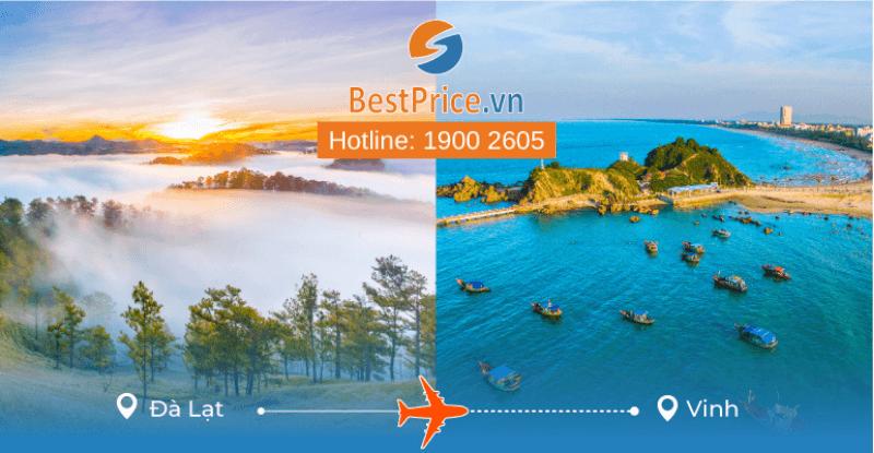 Đặt vé máy bay từ Đà Lạt đi Vinh