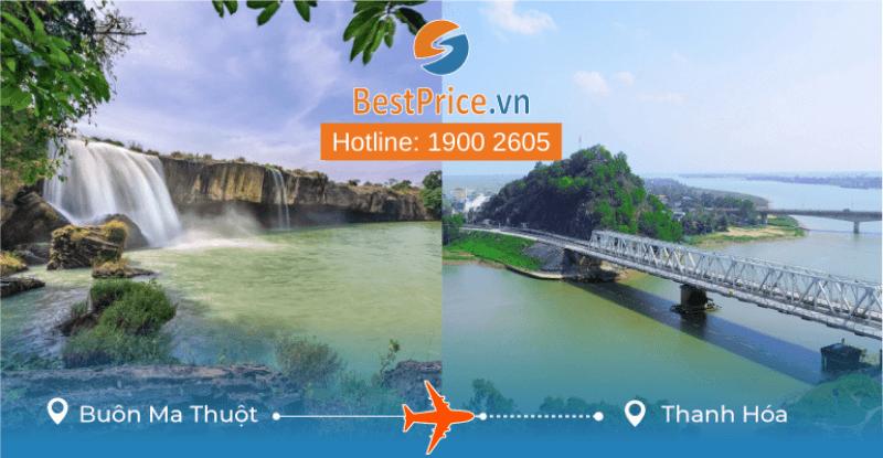 Đặt vé máy bay từ Buôn Ma Thuột đi Thanh Hóa