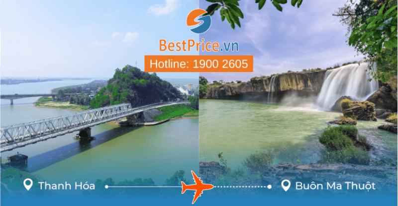 Đặt vé máy bay từ Thanh Hóa đến Buôn Ma Thuột
