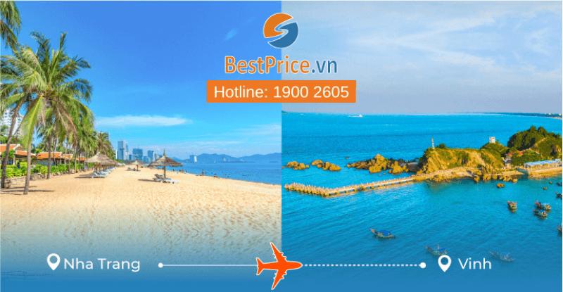 Đặt vé máy bay từ Nha Trang đi Vinh