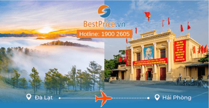 Đặt vé máy bay từ Đà Lạt đi Hải Phòng