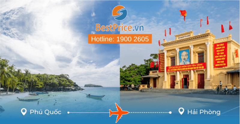 Đặt vé máy bay từ Phú Quốc đi Hải Phòng