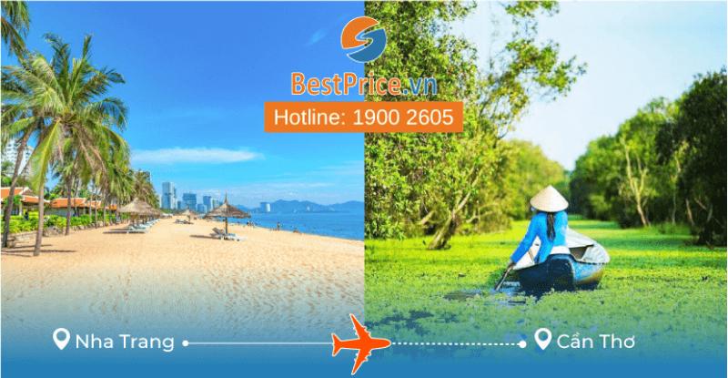 Đặt vé máy bay từ Nha Trang đến Cần Thơ