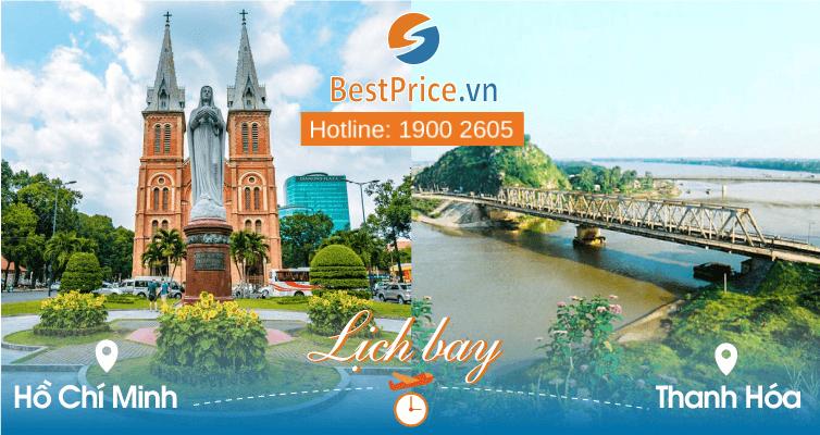 Lịch bay Hồ Chí Minh đi Thanh Hóa