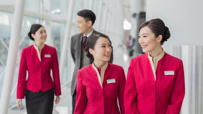 Tiếp viên hàng không của Cathay Pacific