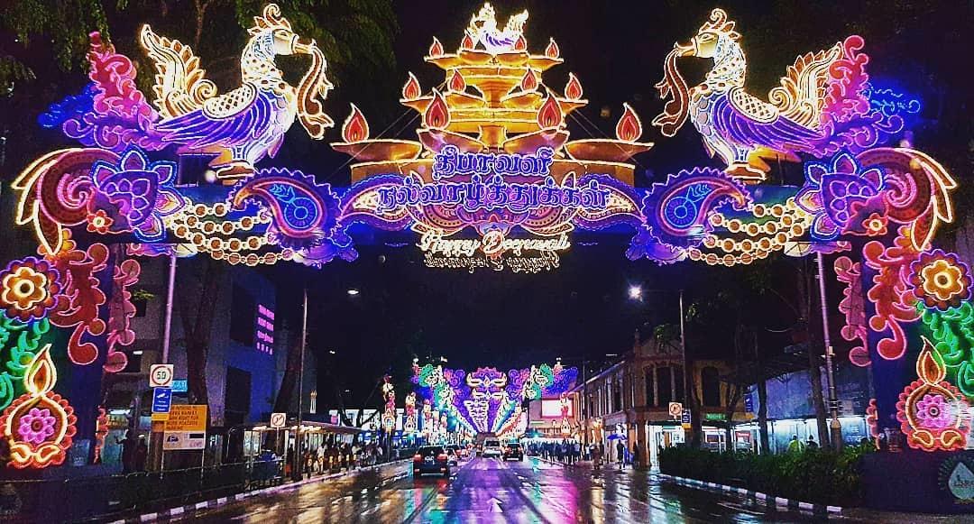 Lễ hội Ánh Sáng Singapore tháng 11