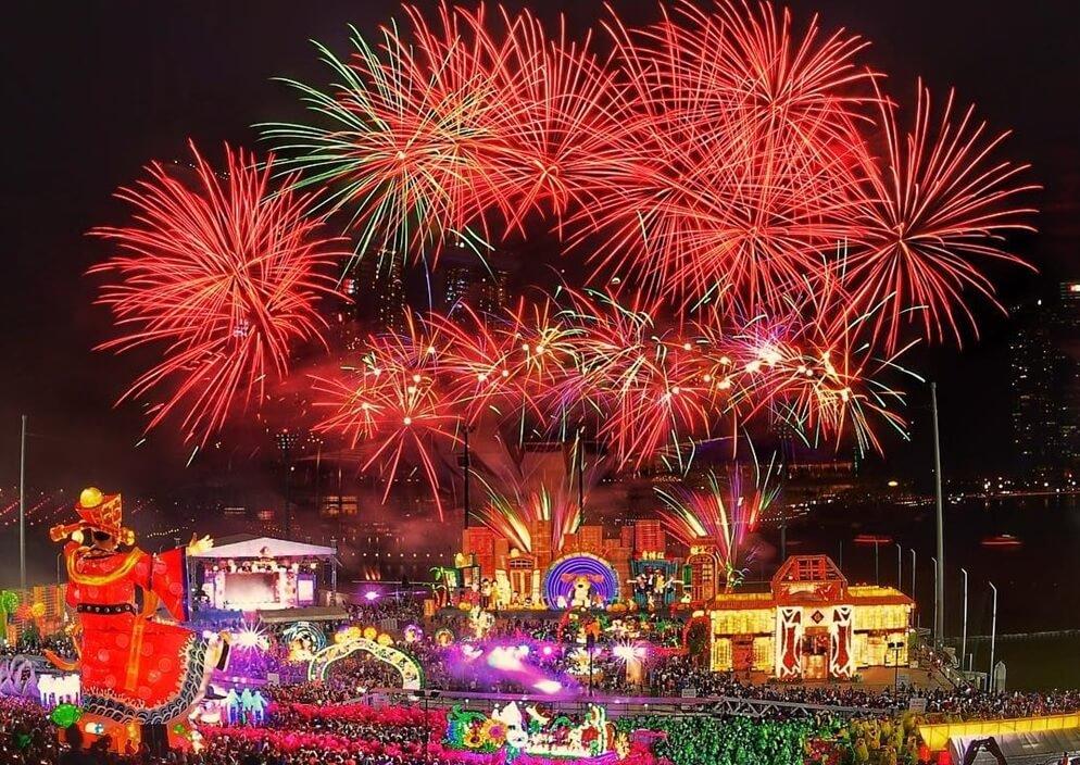 Đặt vé máy bay đi Singapore tháng 2 dự lễ hội River Hongbao