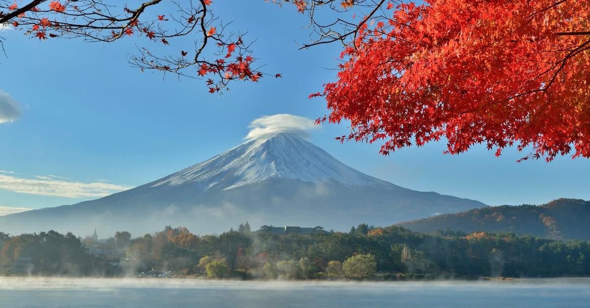 Du lịch núi Phú Sĩ Nhật Bản tháng 8