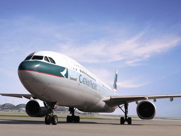 Máy bay của Cathay Pacific