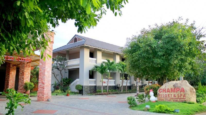 Toàn cảnh Champa Resort & Spa Phan Thiết