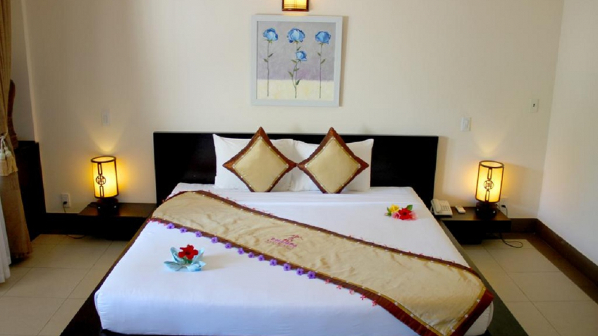 Phòng Deluxe view Champa Resort & Spa Phan Thiết