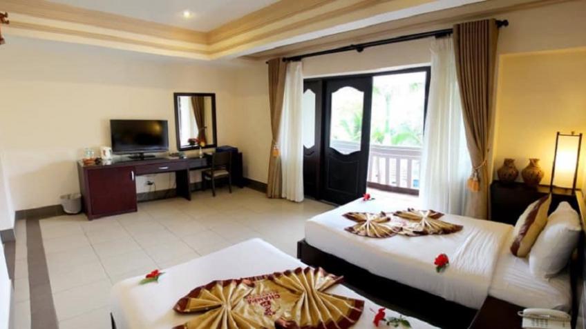 Garden view Bungalows Champa Resort & Spa Phan Thiết
