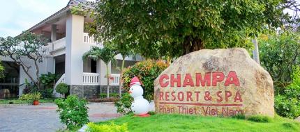 Lối vào Champa Resort & Spa Phan Thiết