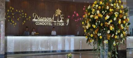 Sảnh check in Diamond Bay Condotel Resort Nha Trang