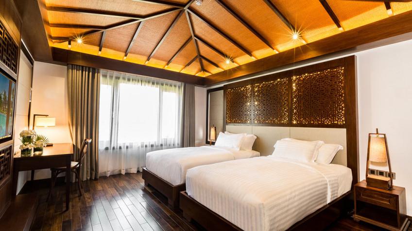 Villa 2 phòng ngủ có vườn/ trên hồ 1