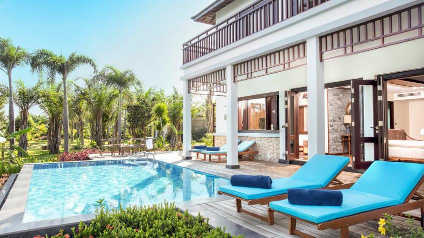 Villa 4 phòng ngủ có hồ bơi