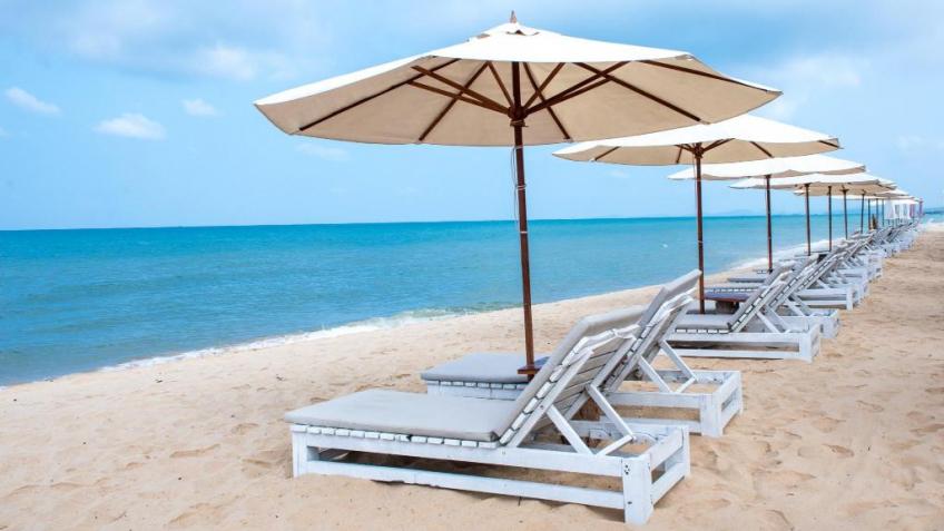 Bãi biển riêng Eden Resort Phú Quốc