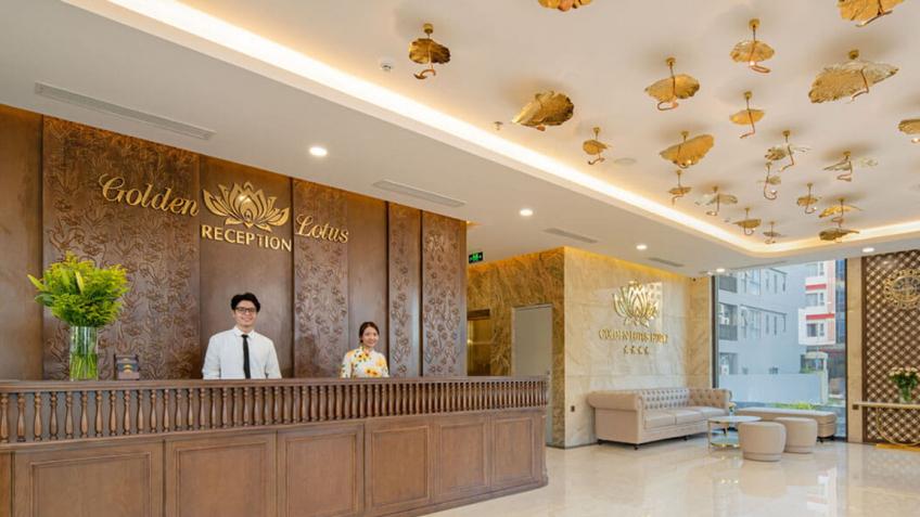 Lễ Tân Golden Lotus Hotel Đà Nẵng