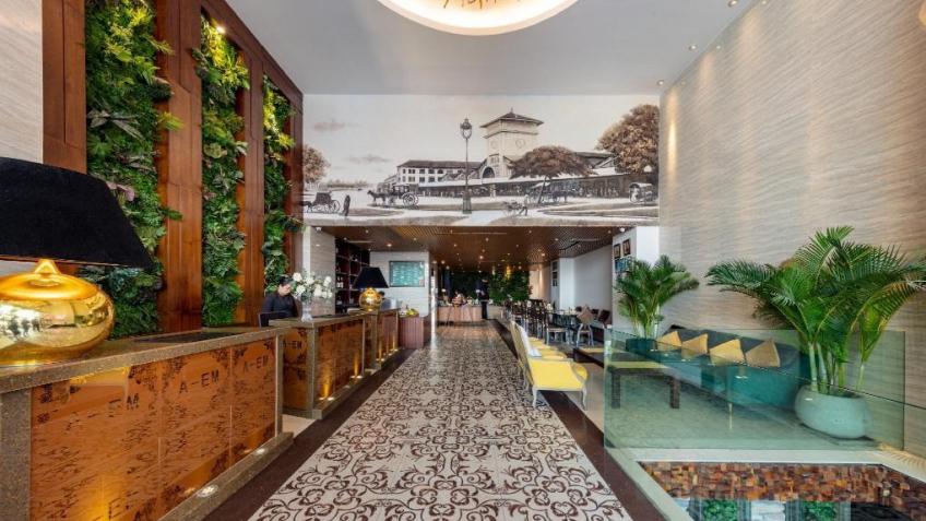 Sảnh Khách sạn A&Em 44 Phan Bội Châu