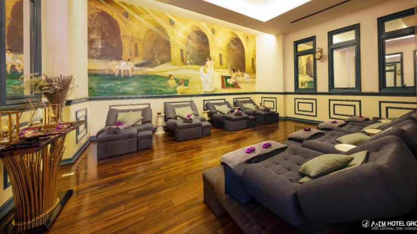 Phòng Massage Khách Sạn A&Em Sài Gòn