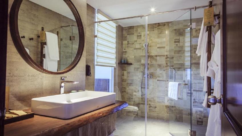 Phòng tắm Alagon Zen Hotel & Spa Sài Gòn