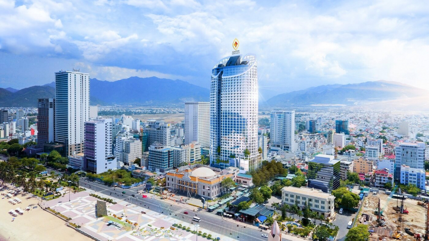 Toàn cảnh Eastin Grand Hotel Nha Trang