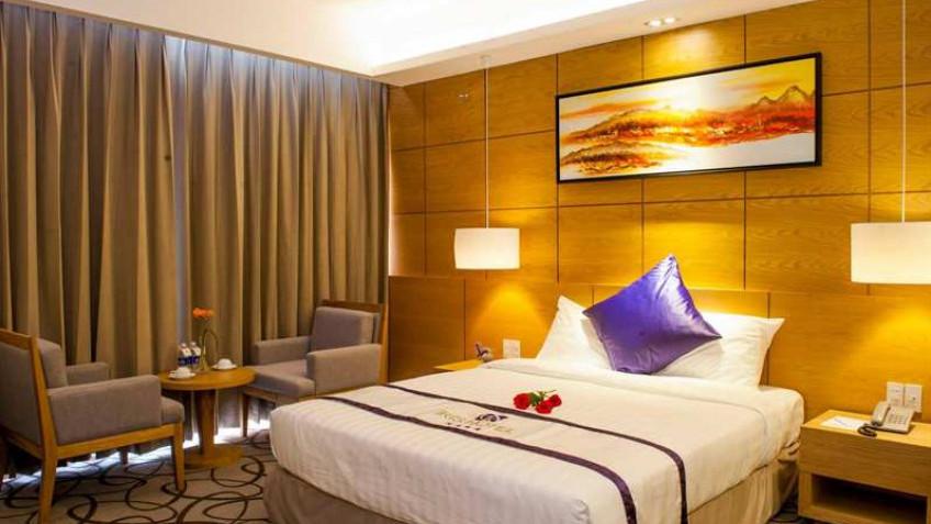 Phòng Deluxe Khách sạn Iris Cần Thơ