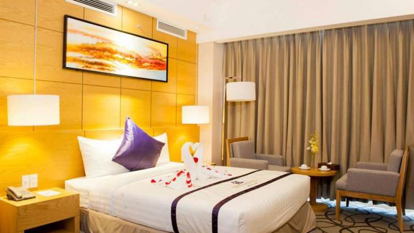 Phòng Superior Premium Khách sạn Iris Cần Thơ