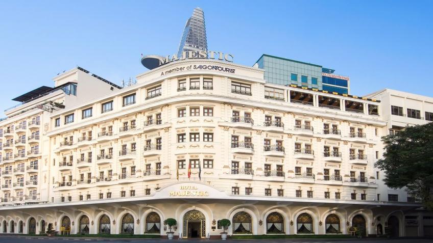 Overview khách sạn Majestic Sài Gòn