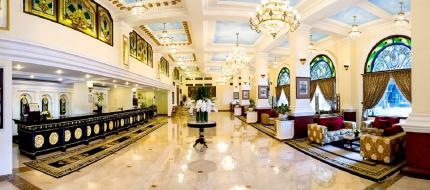 Lobby khách sạn Majestic Sài Gòn