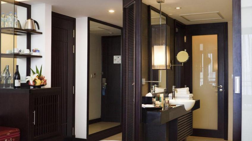 Nội thất phòng khách sạn Novotel Hạ Long