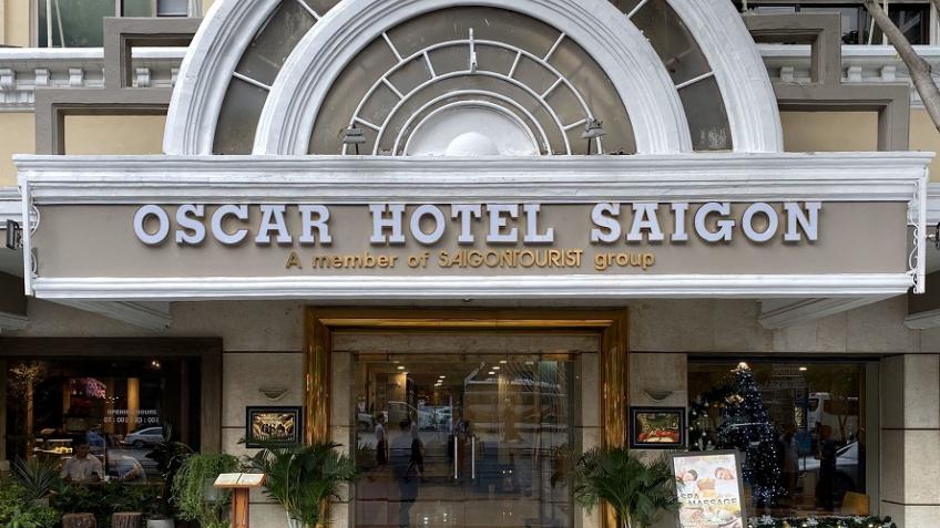 Mặt Tiền Khách sạn Oscar Sài Gòn