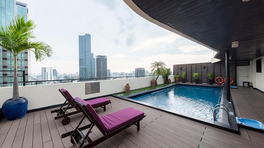 Hồ Bơi Khách sạn Palace Sài Gòn