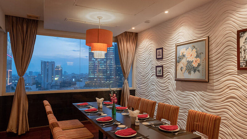 Phòng ăn Khách sạn Palace Sài Gòn