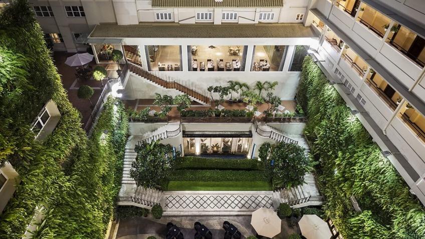 Vertical Garden khách sạn Rex Sài Gòn