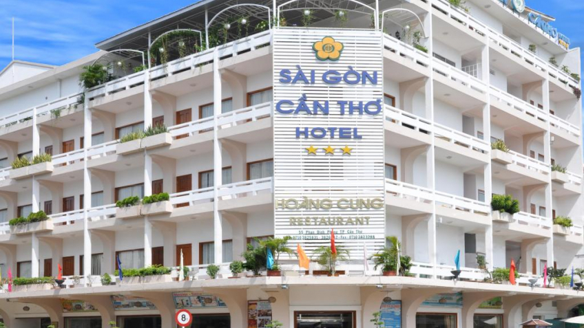 Toàn cảnh Khách sạn Sài Gòn Cần Thơ