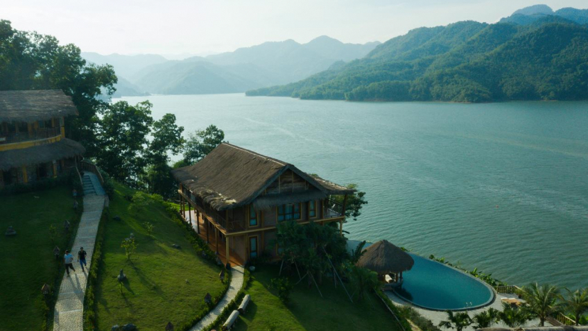 Quang cảnh Mai Châu Hideaway Resort