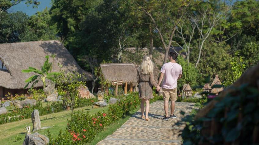 Khuôn viên Mai Châu Hideaway Resort