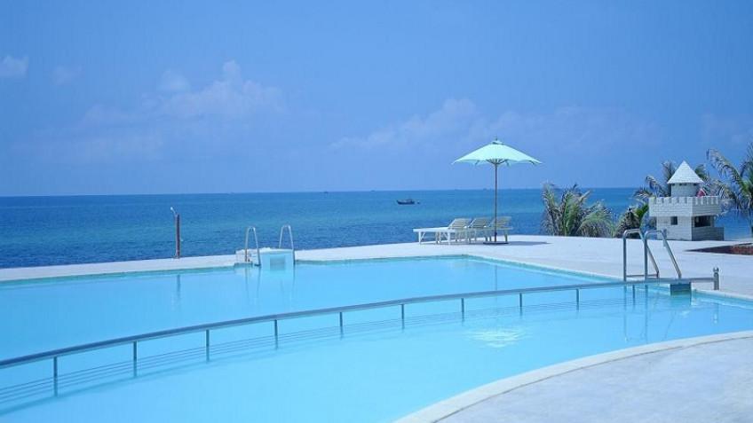 Bể Bơi Peaceful Resort Phan Thiết