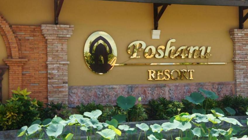 Lối vào Poshanu Resort Phan Thiết