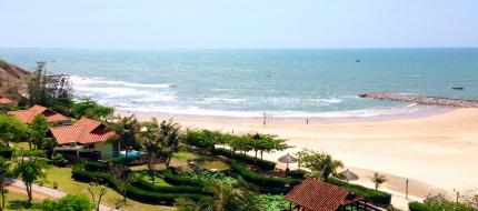Private Beach Romana Resort & Spa Phan Thiết
