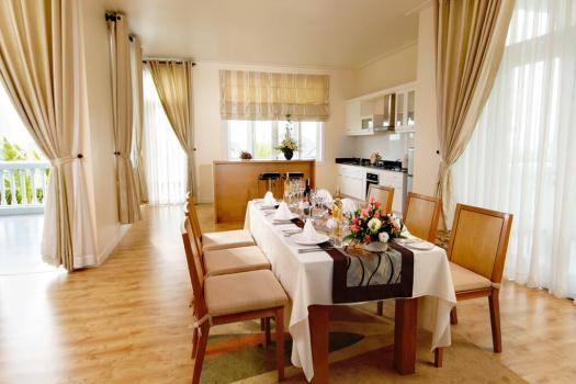 Căn hộ 1 phòng ngủ + phòng khách + phòng bếp