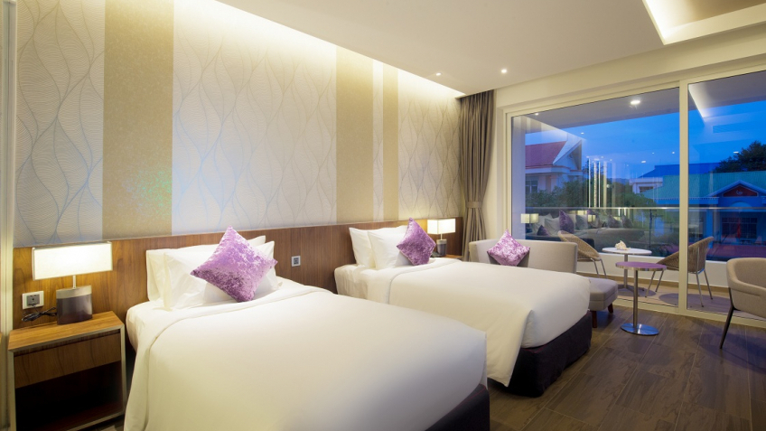Resort Classic City View TwinBed