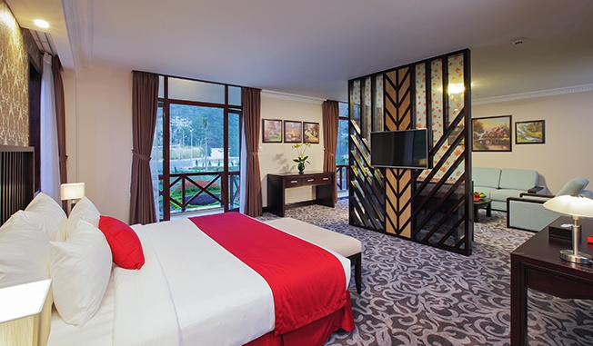 Phòng King Suite Moutain View