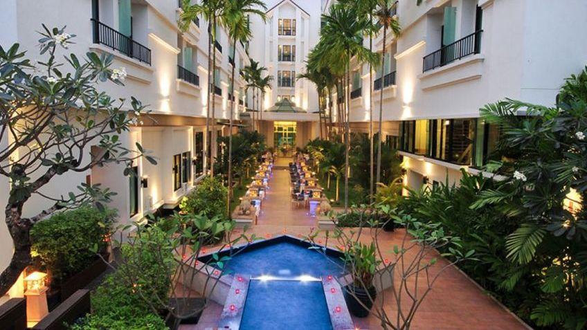 Không gian trong khách sạn